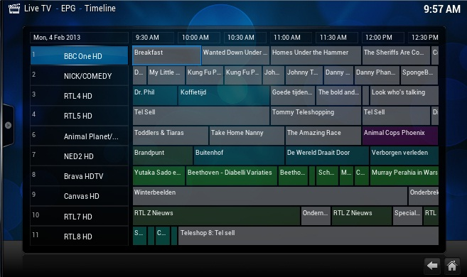how to delete pvr addon