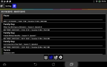 DVBLink Android Client: Recordings
