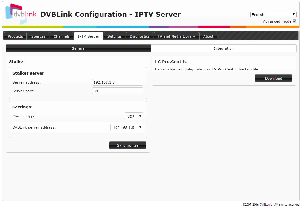 DVBLink IPTV Server Installation and Configuration manual - DVBLink wiki